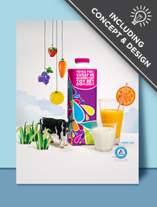 Tetra Pak Business to Business Print Campaign