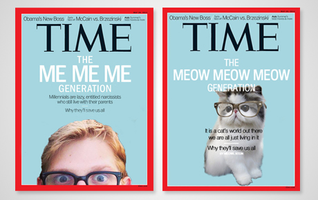 the me me me generation time