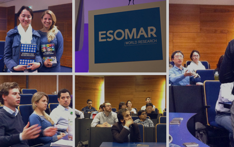 Greetings from ESOMAR Next event!