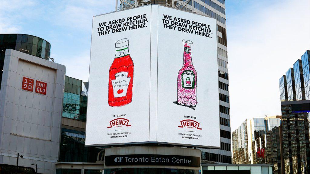heinz billboard