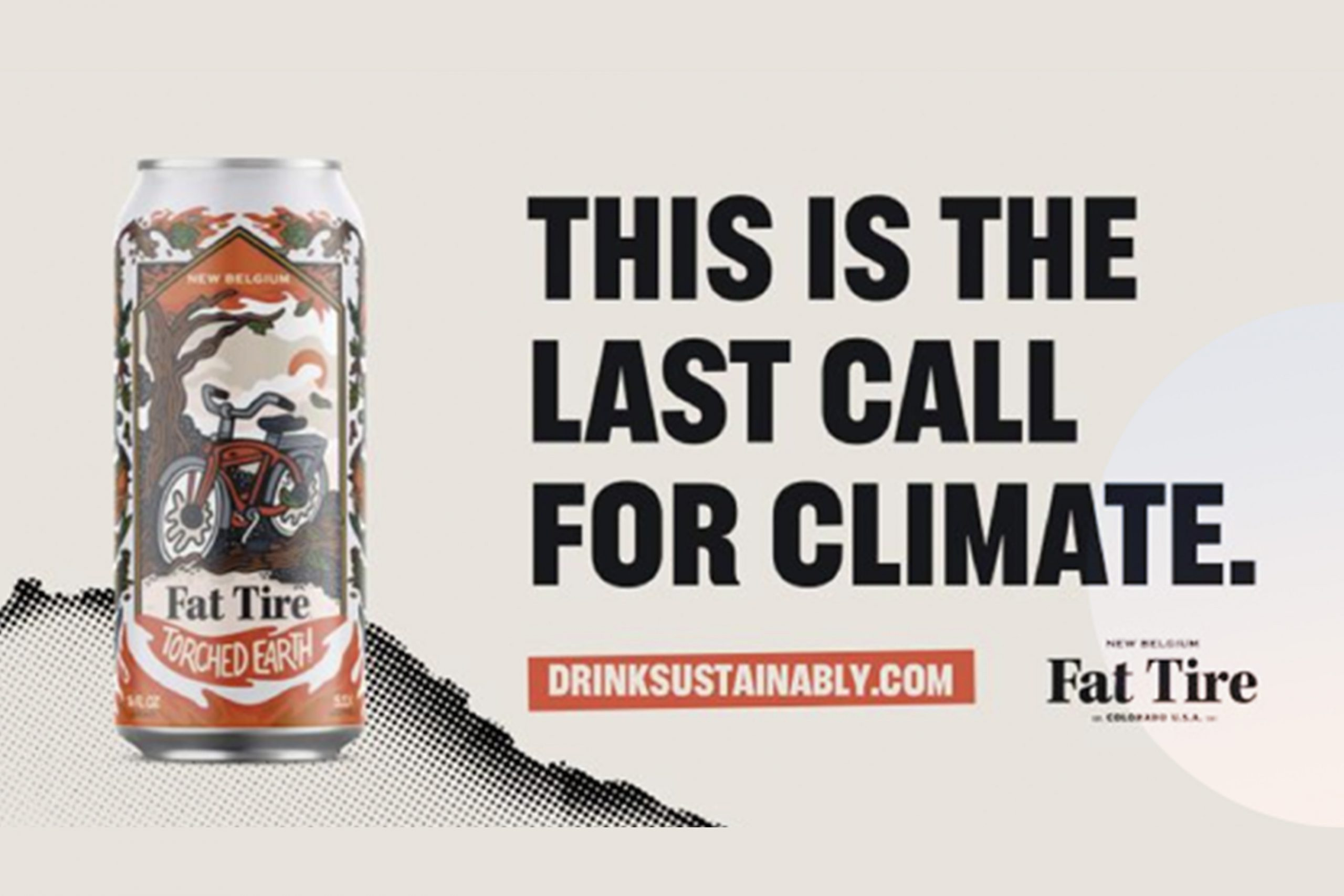 Fat Tire Drink Sustainable Beer