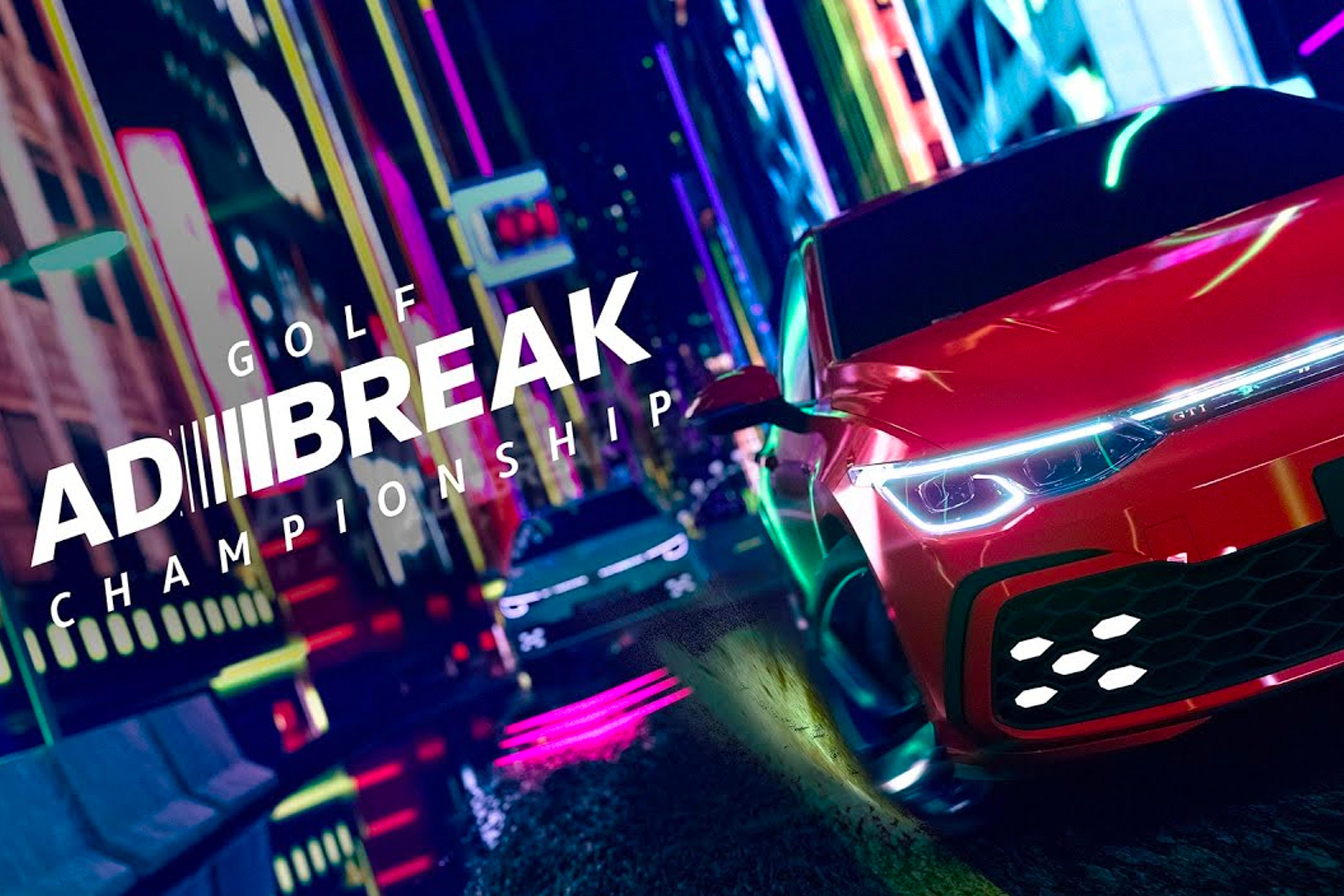 Volkswagen campaign image: Adbreak championship