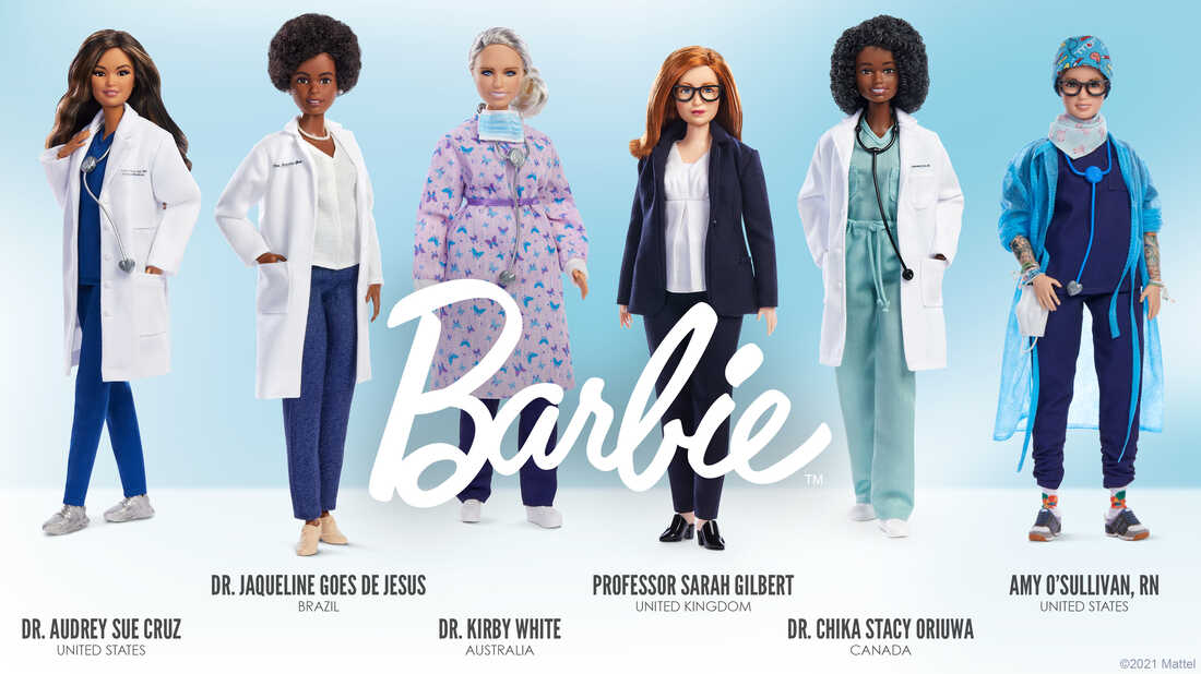 From princess to vaccinologist: How Barbie creates new role models