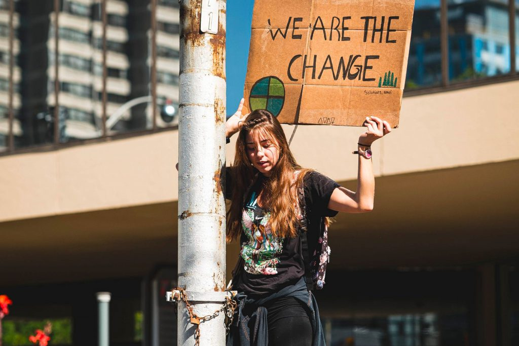 Gen Z protest We are the change